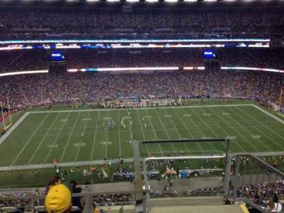 Gillette Stadium section 310
