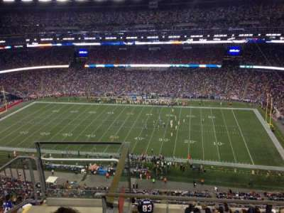 Gillette Stadium section 306