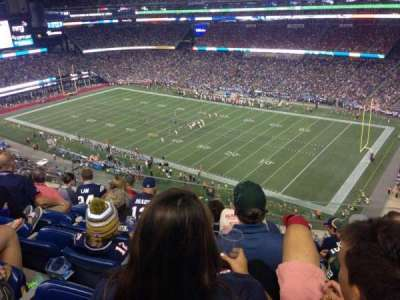 Gillette Stadium section 303