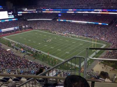 Gillette Stadium section 302