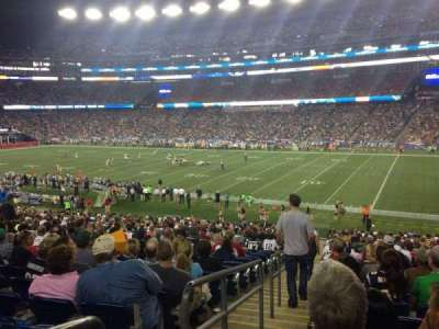Gillette Stadium section 105