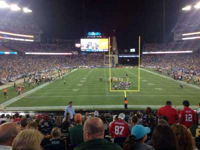 Gillette Stadium section 121