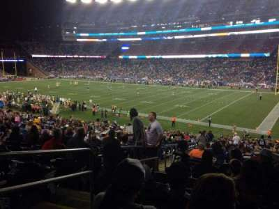 Gillette Stadium section 126
