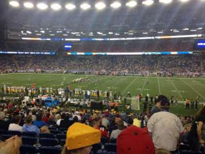 Gillette Stadium, section: 130, row: 28, seat: 5