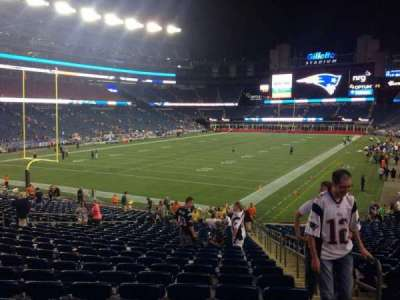 Gillette Stadium section 140