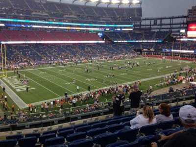 Gillette Stadium section 236