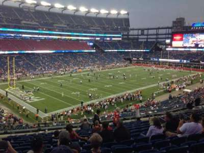 Gillette Stadium section 237