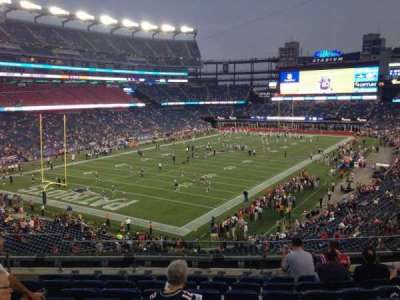 Gillette Stadium section 239