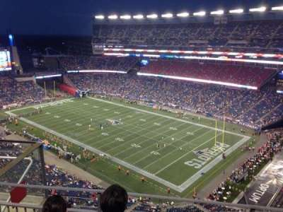 Gillette Stadium section 324