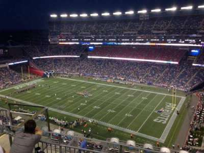 Gillette Stadium section 326