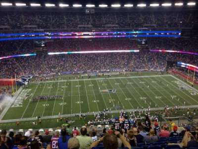 Gillette Stadium section 333