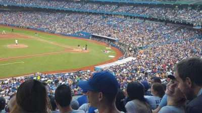 Rogers Centre, section: 232R, row: 7, seat: 6