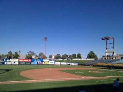 Cashman Field, section: 5, row: k, seat: 16