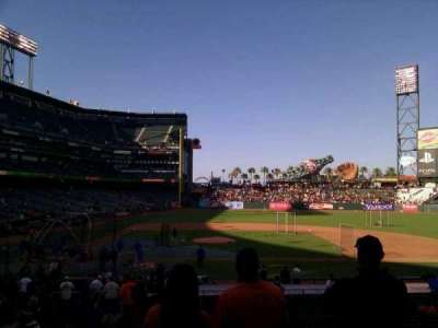 AT&T Park, section: 109, row: 26, seat: 10