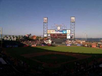 AT&T Park, section: 215, row: i, seat: 6