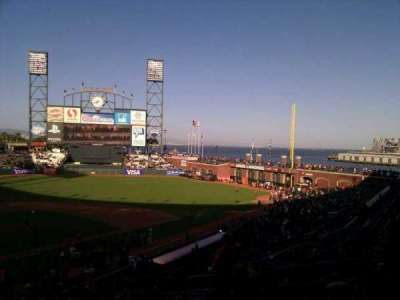AT&T Park, section: 213, row: i, seat: 10