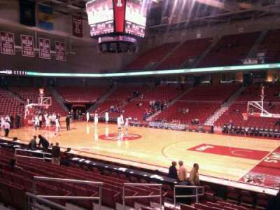 Liacouras Center, section: 111, row: n, seat: 6