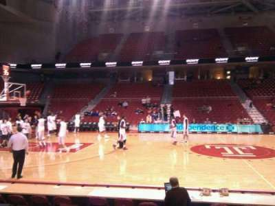 Liacouras Center, section: 113, row: f, seat: 14