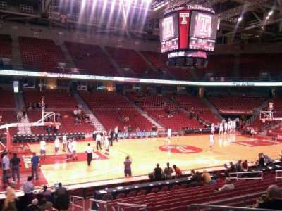 Liacouras Center, section: 115, row: r, seat: 3