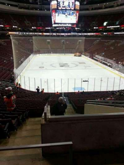 Wells Fargo Center section 118