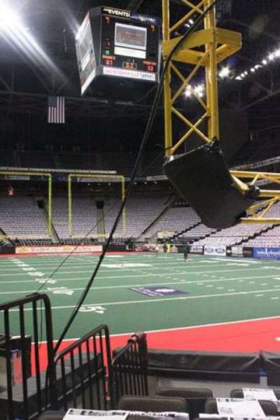 Jacksonville Veterans Memorial Arena, section: 121, row: D, seat: 8