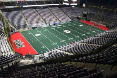 Jacksonville Veterans Memorial Arena, section: 307, row: H, seat: 8