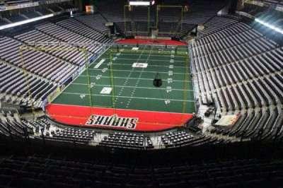 Jacksonville Veterans Memorial Arena, section: 311, row: F, seat: 6