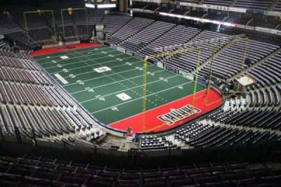 Jacksonville Veterans Memorial Arena, section: 315, row: F, seat: 7