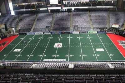 Jacksonville Veterans Memorial Arena, section: 320, row: F, seat: 8