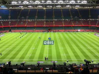 Principality Stadium, section: U30, row: 18, seat: 18