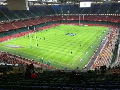 Principality Stadium, section: U37, row: 24, seat: 17