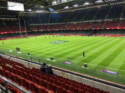 Principality Stadium, section: M27, row: 12, seat: 24