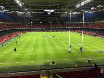 Principality Stadium, section: M20, row: 11, seat: 26