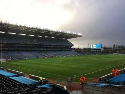 Croke Park, section: 313, row: U, seat: 4
