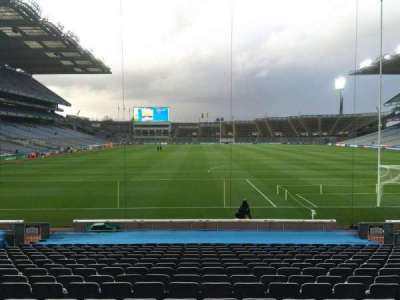 Croke Park, section: 319, row: T, seat: 1