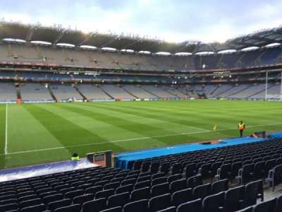 Croke Park, section: 333, row: S, seat: 6