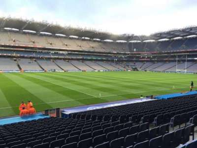 Croke Park, section: 334, row: W, seat: 4