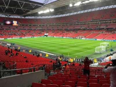 Wembley Stadium, section: 116, row: 40, seat: 152