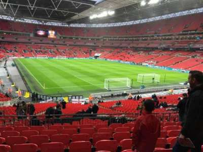 Wembley Stadium, section: 114, row: 39, seat: 89