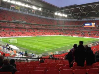 Wembley Stadium, section: 107, row: 39, seat: 127