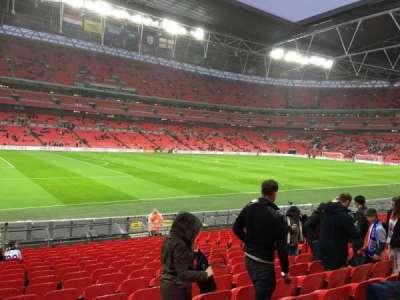 Wembley Stadium, section: 106, row: 18, seat: 66