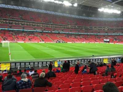 Wembley Stadium, section: 126, row: 20, seat: 114