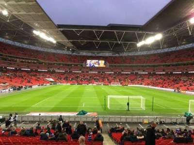 Wembley Stadium, section: 134, row: 25, seat: 17