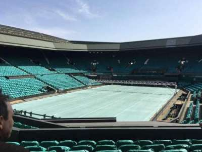 Wimbledon, Centre Court, section: 205, row: F, seat: 156