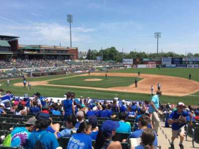 TD Bank Ballpark, section: 215, row: V, seat: 1