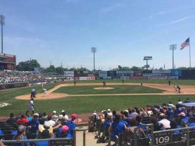 TD Bank Ballpark, section: 207, row: K, seat: 1