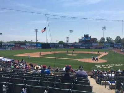 TD Bank Ballpark, section: 206, row: R, seat: 1