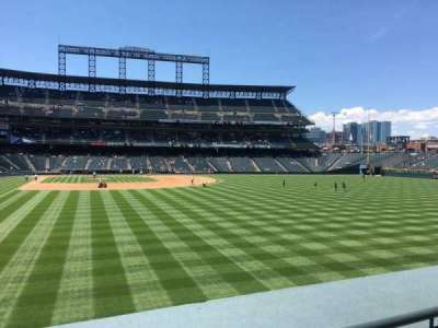 Seat View Reviews From Coors Field Home Of Colorado Rockies