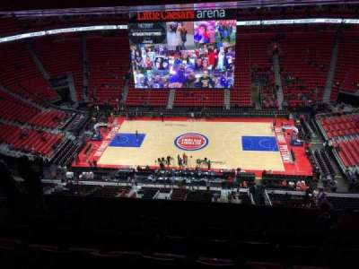 Little Caesars Arena, section: 226, row: 10, seat: 10