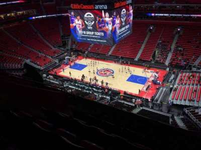 Little Caesars Arena, section: 224, row: 7, seat: 15